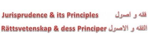 Rättsvetenskap och dess Principer